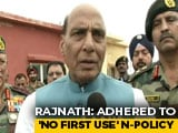 "Video : Rajnath Singh's Hint On N-Policy: ""Future Will Depend On Circumstances"""