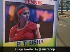 Sania Mirza Identified As PT Usha On Sports Day Poster In Andhra Pradesh