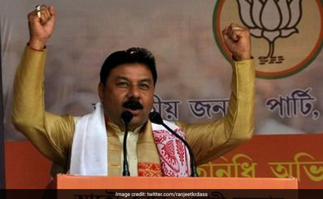 Assam BJP To Only Admit Leaders From Bodoland Areas: Ranjit Kumar Dass