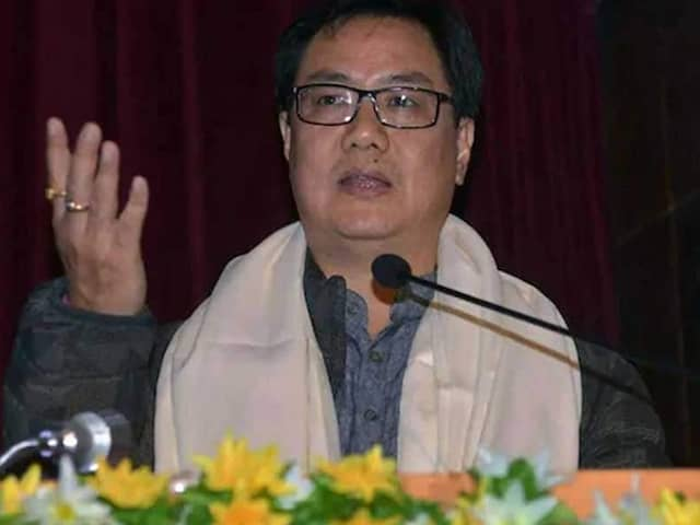 Kiren Rijiju To Appeal Against WADA For Suspending National Dope Testing Laboratory