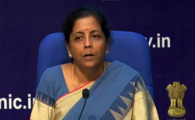 India's Growth Much Higher Than Global Growth: Nirmala Sitharaman
