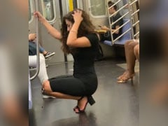 Woman's Photoshoot On A Train Is Viral And People Love Her Confidence