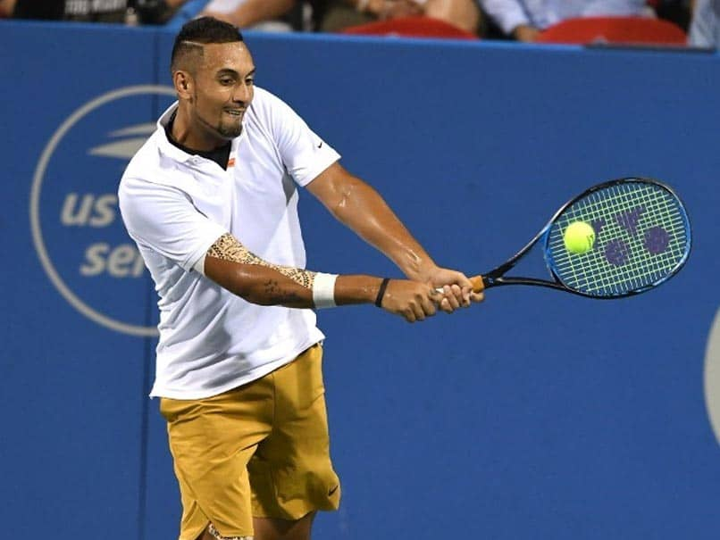 Nick Kyrgios smashes two racquets after walking off court, Watch Video
