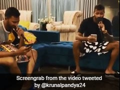 "Watch: Hardik Pandya, Krunal Pandya Team Up For ""Pandya Music Studio"""