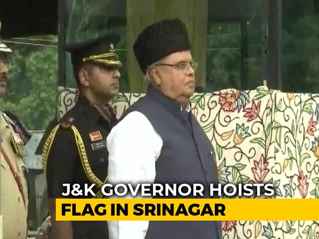 "Video : ""Your Identity Neither At Stake Nor Tampered With,"" Governor Tells J&K"
