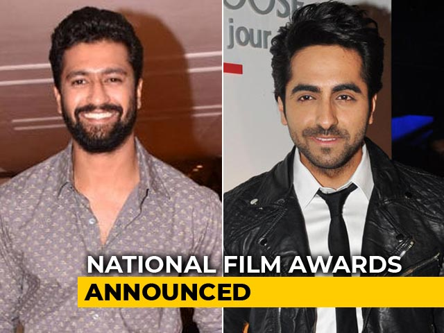 National Film Awards: Vicky Kaushal, Ayushmann Khurrana Share Best Actor