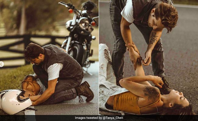 Instagrammer, Accused Of Staging Motorcycle Accident, Says...