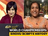 "Video : PV Sindhu's Mother On Her Historic Win And The ""Best Birthday Gift"""