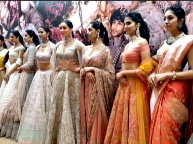 Video : All The Action From 'Vogue Wedding Show 2019'