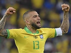 Brazil Captain Dani Alves Heads Home To Sao Paulo