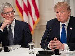 "Ahead Of Tim Cook Dinner, Trump Says Apple To Spend ""Vast"" Money In US"