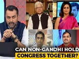 Video : Will Congress Pick A Non-Gandhi President After 2 Decades?