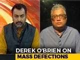 """Video: """"All Sins, CBI Cases Washed Away"""": Derek O'Brien On MPs Switching Sides"""