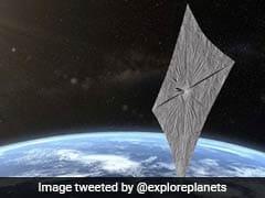 Satellite Successfully Propelled Into Higher Orbit Using Sunbeams