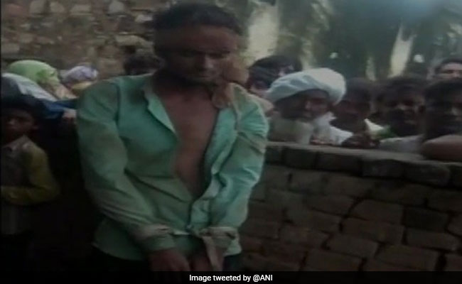 Man Tied With Rope, Thrashed Over Suspicion Of Theft In Rajasthan