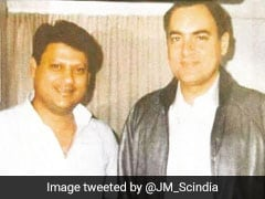 Jyotiraditya Scindia's Throwback Photo On Rajiv Gandhi Birth Anniversary