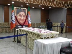 Foreign Dignitaries, World Leaders Pay Tributes To Sushma Swaraj