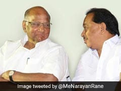 """Mistake Or Blunder?"": Sharad Pawar Recalls Narayan Rane's Congress Move"