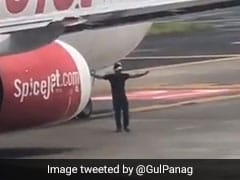 Mumbai Man Climbs Airport Wall, Seen On Camera Inspecting Plane On Runway