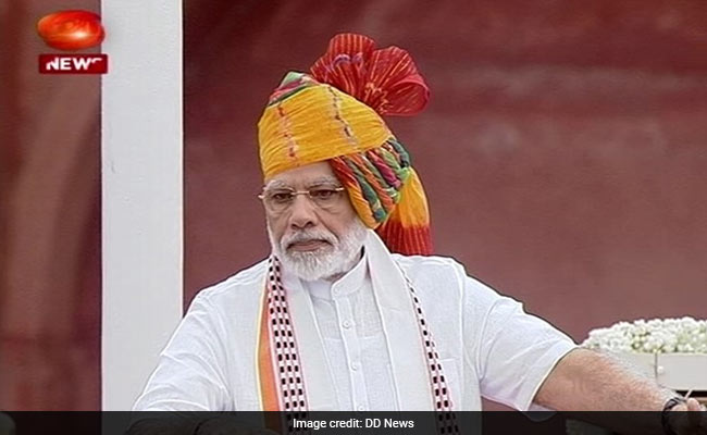 73rd Independence Day Live: Population Explosion Is A Problem, Says PM
