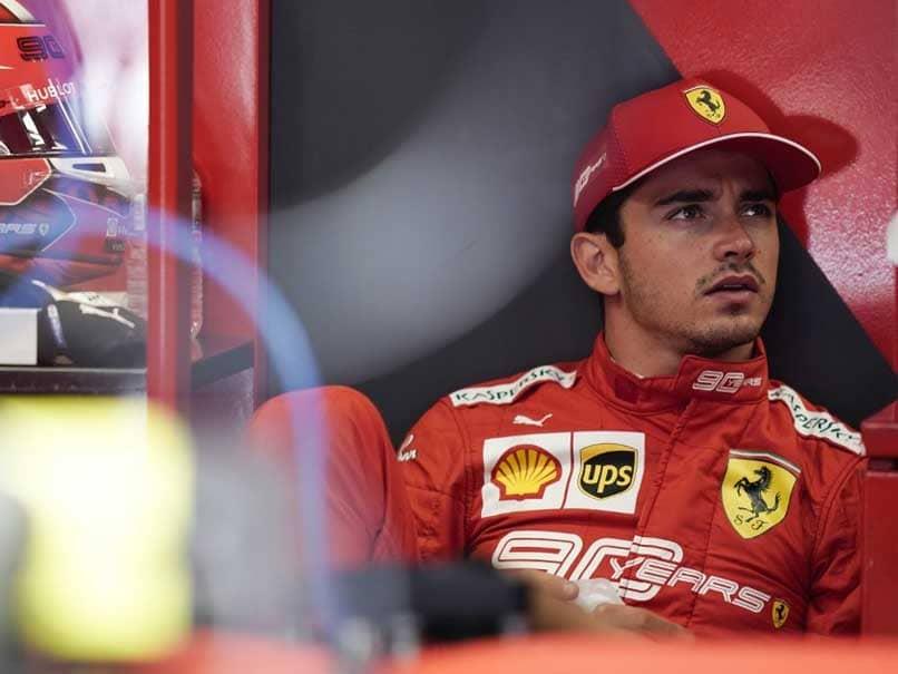 Charles Leclerc Pips Sebastian Vettel As Ferrari Dominate Belgian GP Practice