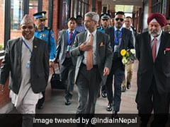 Foreign Minister S Jaishankar In Nepal For Wide-Ranging Bilateral Talks