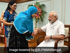 Triple Talaq Petitioner Ishrat Jahan Gets Tricolour Rakhi For PM Modi