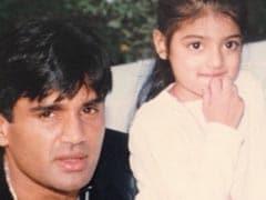 On Suniel Shetty's Birthday, Athiya Shetty Gift Wraps A Throwback Pic