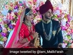 भारतीय दुल्हन संग शादी के बंधन में बंधे पाकिस्तानी क्रिकेटर हसन अली, देखें तस्वीरें