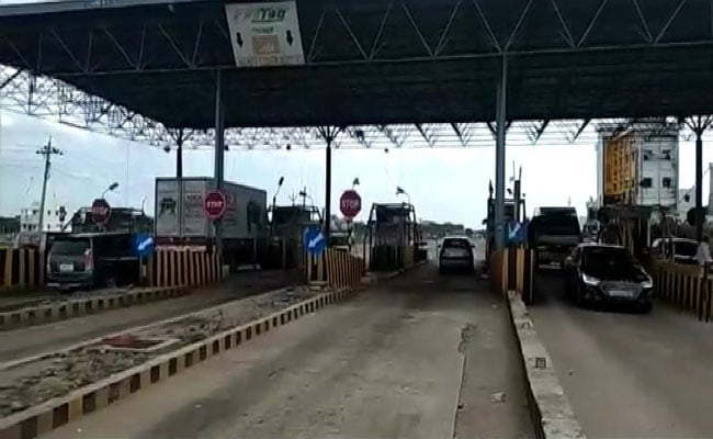 The government has suspended toll collection during the lockdown period.