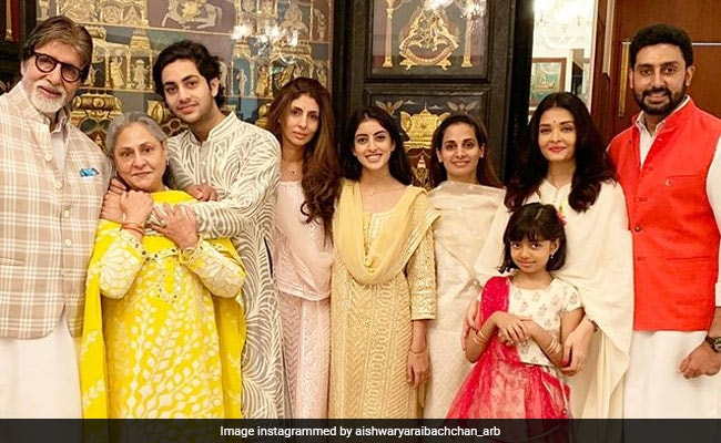 Aishwarya Rai Shares New Pics From Bachchans' Raksha Bandhan Diaries