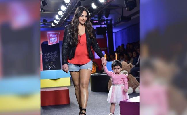 Lakme Fashion Week: Esha Deol Shares Glimpses Of Daughter Radhya's 'First Ramp Walk'