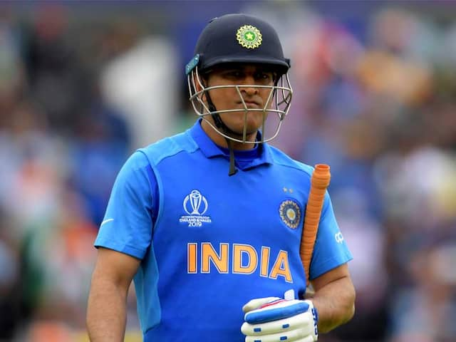 MS Dhonis Exclusion From South Africa Series Doesnt Surprise Sourav Ganguly