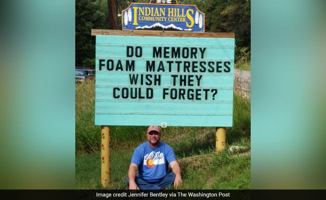 This Man Is Brightening Up Roadside Signs With Jokes And Puns