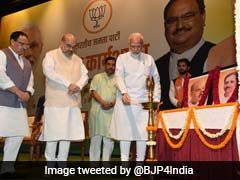 """""""BJP Scaled New Heights Due To Ideology, Not Family"""": PM Modi To Lawmakers"""