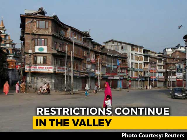 """Video : """"J&K Situation Very Sensitive, Government Should Get Time"""": Supreme Court"""