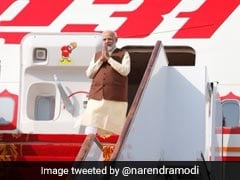 PM Modi, On 3-Nation Tour, Arrives In Bahrain
