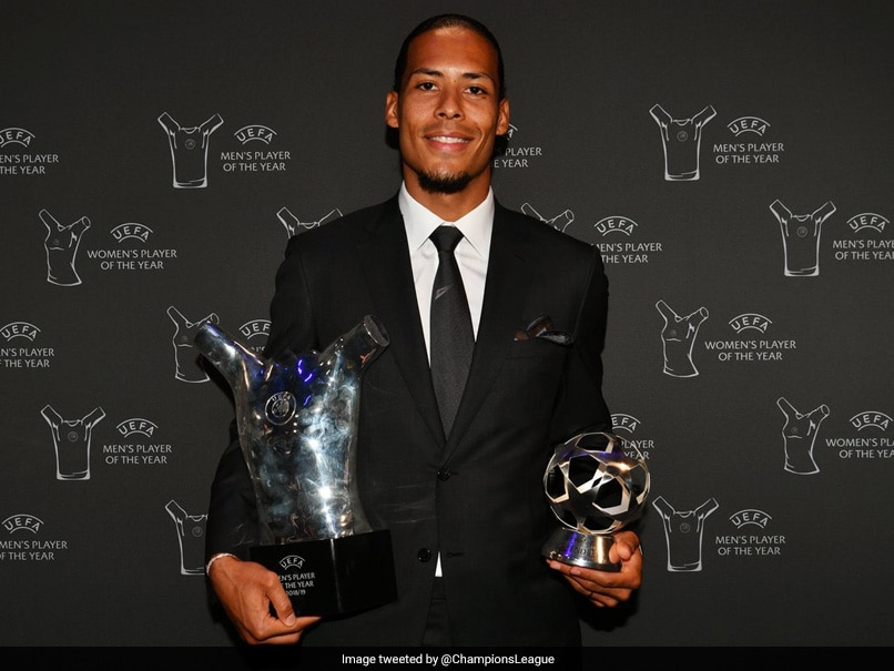 Virgil Van Dijk, Lucy Bronze Take UEFA Player Of The Year Honours