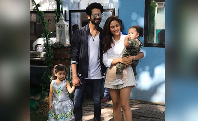 More Pics From Shahid Kapoor And Mira Rajput's Kids Misha And Zain's Joint Birthday Party