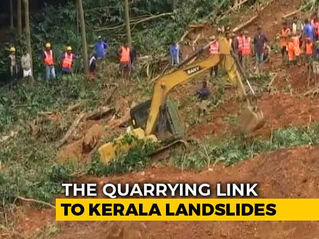Video: Most Recent Kerala Landslides In 'Ecologically Sensitive Zones'
