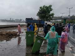 High Tide Heaps Trash Along Mumbai's Marine Drive, 25 Tonnes Cleared