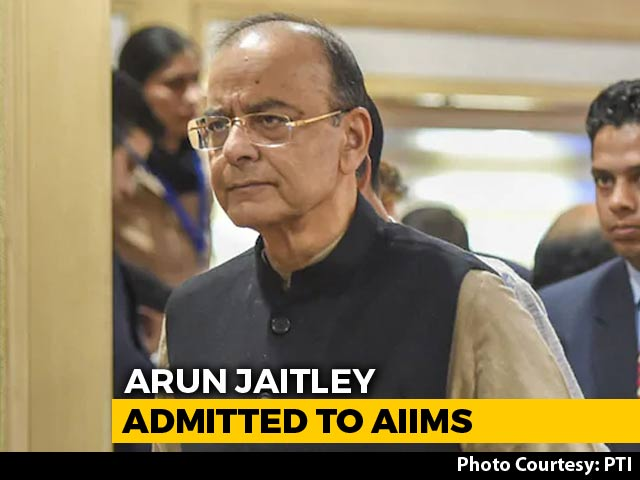 Video : Arun Jaitley In ICU After Breathing Problems, PM Visits Hospital