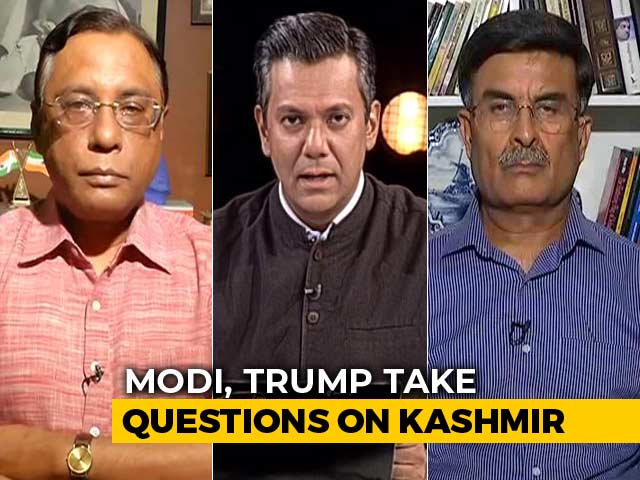 Video : Kashmir Issue Bilateral, Don't Need Mediation: PM Modi During Meeting With Trump