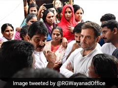 """Heartbreaking"": Rahul Gandhi Visits Flood-Ravaged Wayanad"