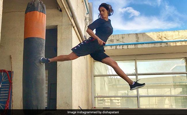 Disha Patani 'Kick Started' Her Tuesday Like This. Watch Video