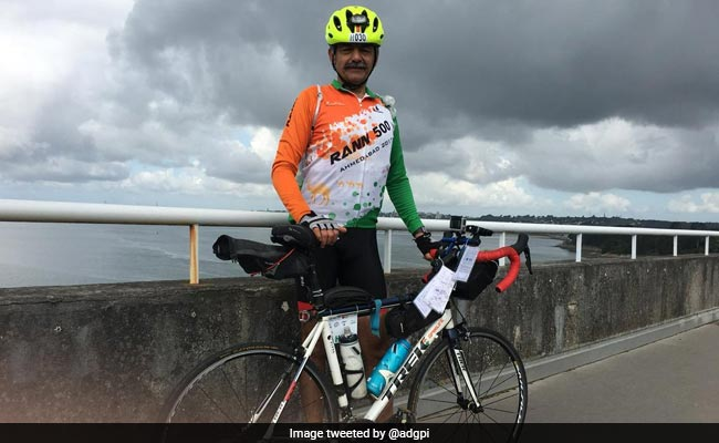 Indian Army Officer, 56, Completes France's Oldest Marathon Cycling Event