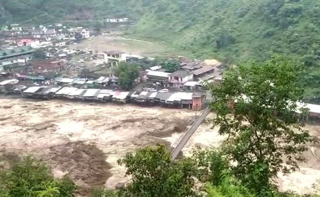 Helicopter Carrying Flood Relief Material Crashes In Uttarakhand: Report