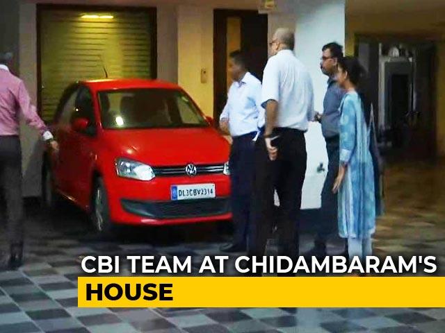 Video : P Chidambaram Denied Anticipatory Bail, Probe Agencies Visit His Home