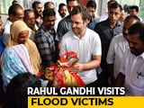 Video : Rahul Gandhi Visits Flood-Hit Constituency Wayanad, Seeks Aid From State