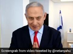 """Namaste"": Benjamin Netanyahu Greets PM Modi, India On Independence Day"